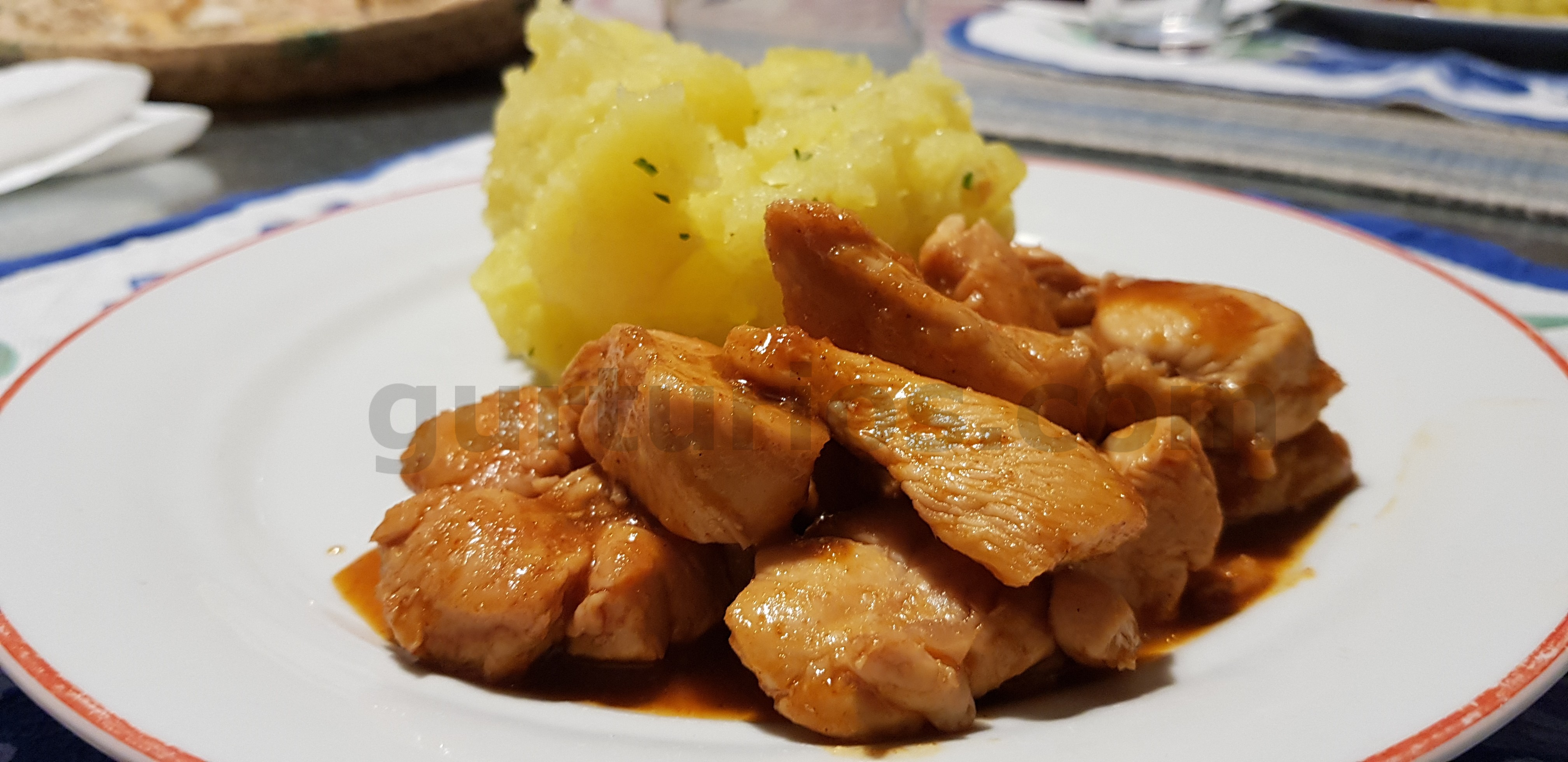 Falso curry di pollo